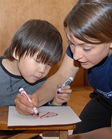 The Son-Rise Program, Autistic Child Coloring