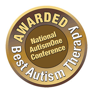Awarded Best Autism Therapy Badge
